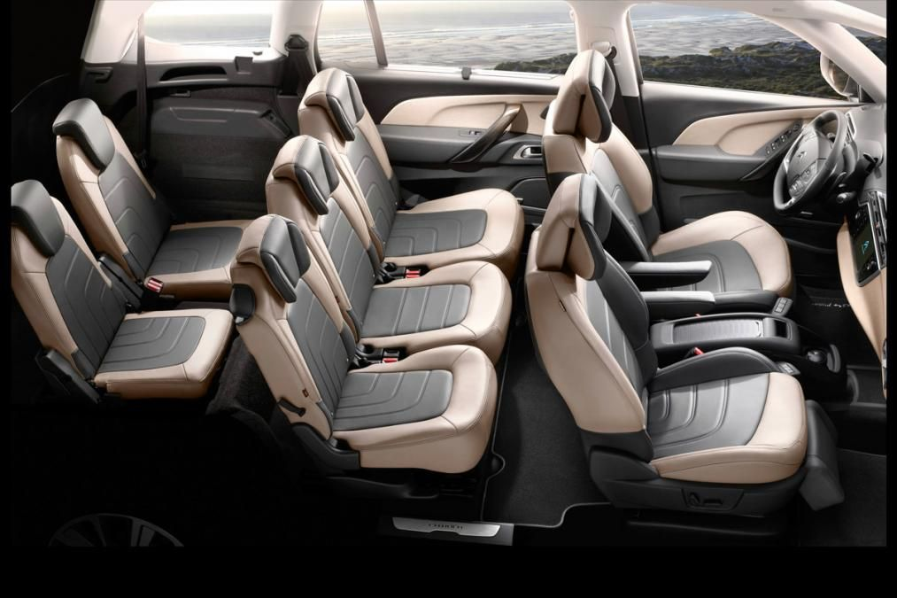Citroën Grand C4 Picasso interior | car interior | Pinterest