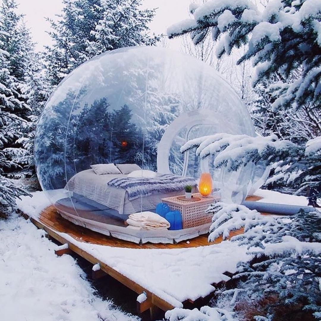 pictures Step Inside Icelands Zany Buubble Hotel