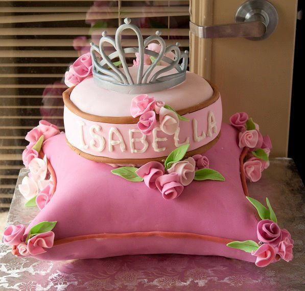 Princess Cake  All details are edible  https://www.facebook.com/letthebakingbegin