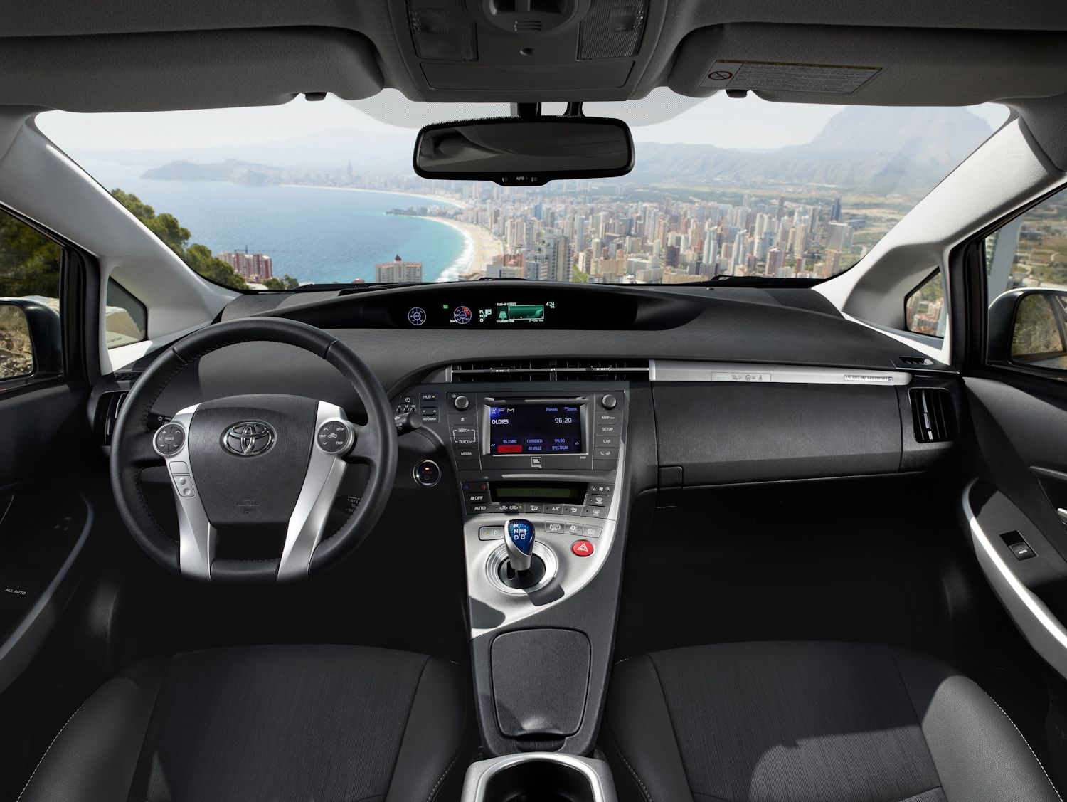 Image For Toyota Prius Plug In Hybrid Interior