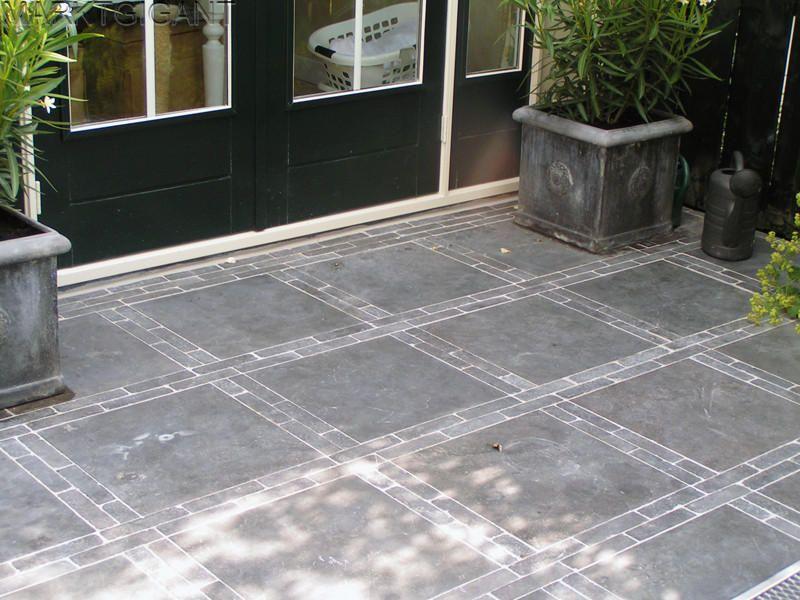 Tegels met klinkers samen tuinen westland honselersdijk bestratings patronen samen tuinen - Mat tegels ...