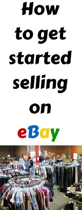 How to make money online selling clothing on eBay #craftstosell