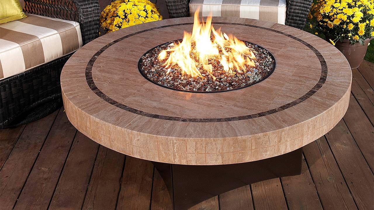 Oriflamme Sahara Fire Table With Images Outdoor Fire Pit Table
