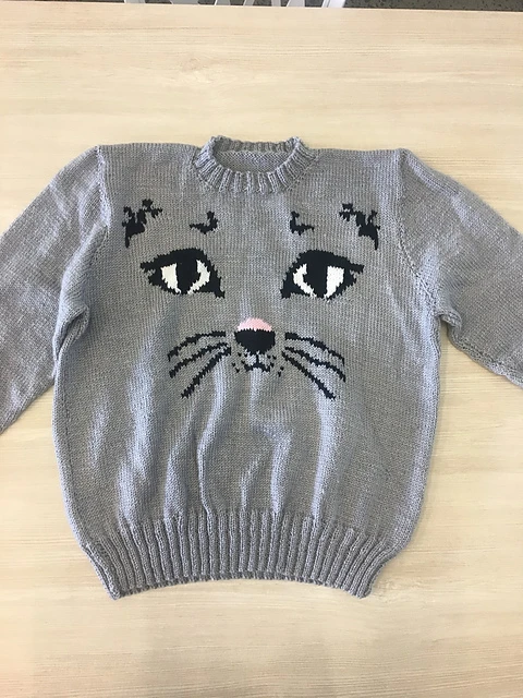 Ravelry: Wilderpeople Cat Sweater pattern by Hunt for the ...