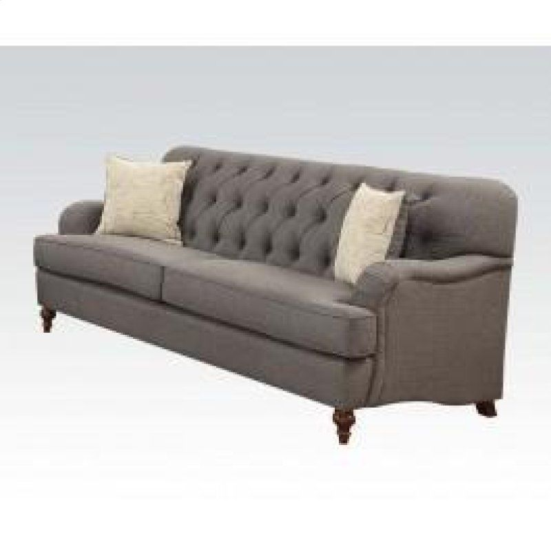 53690 In By Acme Furniture Inc Brick Nj Sofa W 2 Pillows