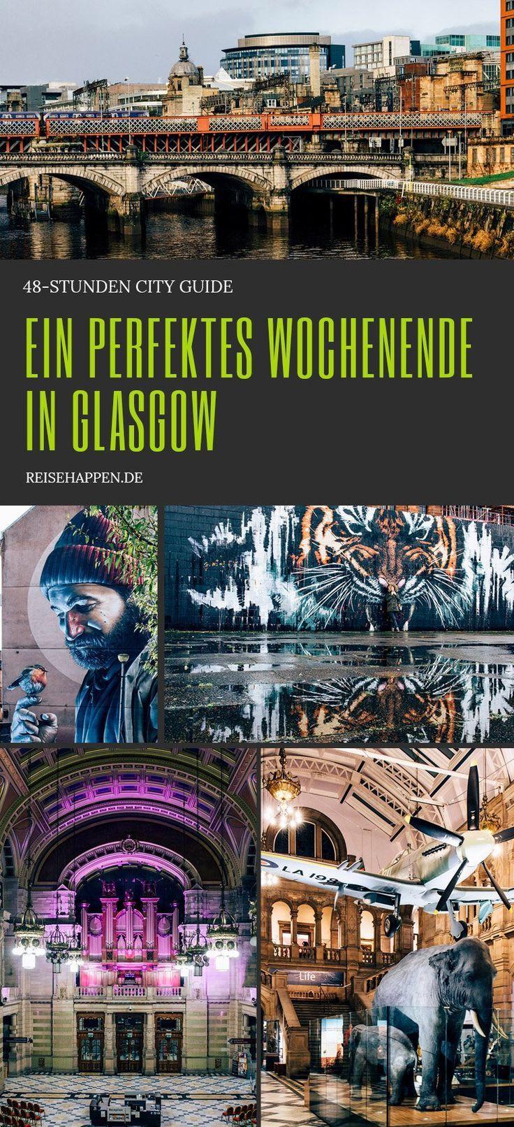 Glasgow in 48-Stunden: City Guide für ein perfektes Wochenende