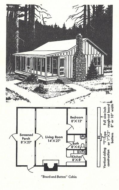 Wilderness Cabin 2 Wilderness Cabins Small Cabin Plans Cabin House Plans