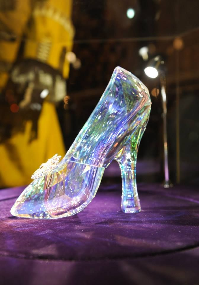 af55f4a16 Cinderella Swarovski Shoe | Costume: Cinderella (2015) | Cinderella ...