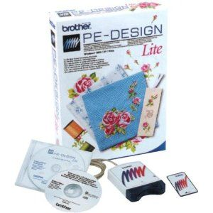 Brother Pe Design Lite Embroidery Software Comes With Rewritable