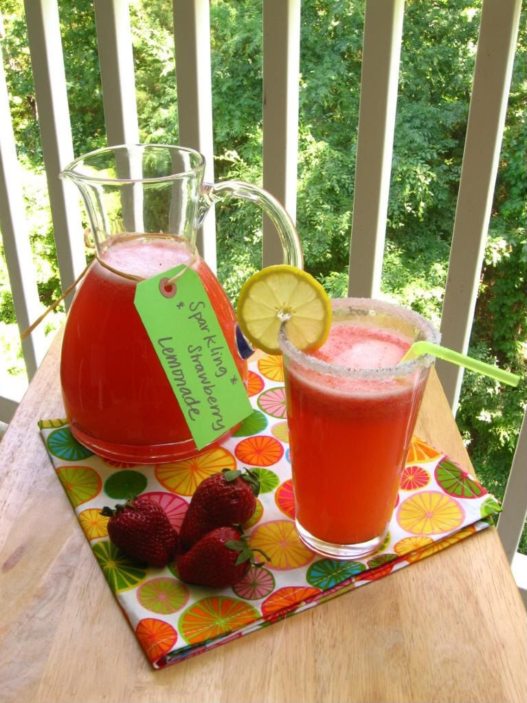 Sparkling Strawberry Lemonade > Willow Bird Baking