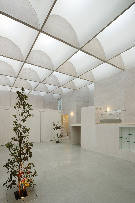 Einer der eine Art modernes Herrenhaus das Tageslicht-Haus in ...