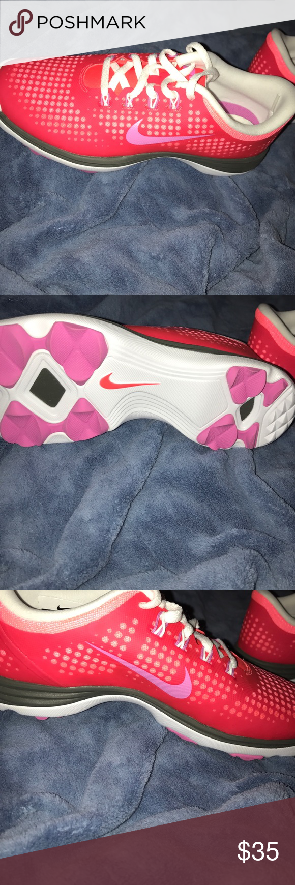 Nike shoes Never worn Nike shoes can be used as casual shoes or cleats Nike Shoes Athletic Shoes