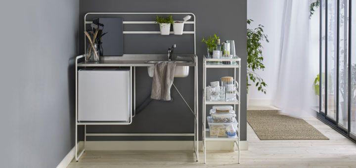 Mini cucina economica Ikea Sunnesta | Idee per la cucina | Pinterest