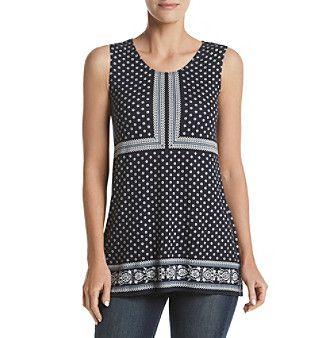 Max Studio Edit™ Printed Knit Top