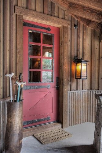 Board And Batten Design Ideas Pictures Remodel And Decor Door Design House Siding Rustic Exterior