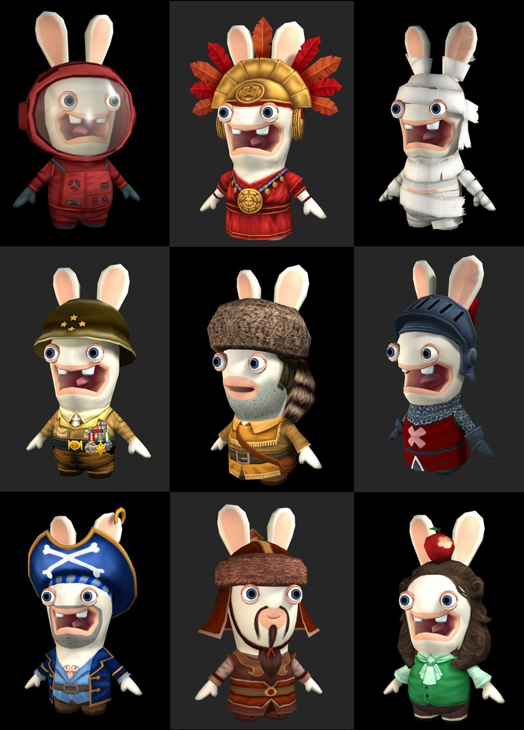 rabbid costume raving rabbids travel in time marthin agusta on artstation at - Raving Rabbids Halloween Costume