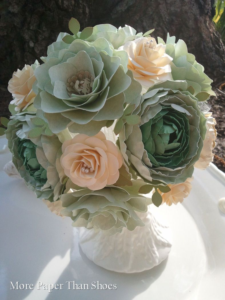 This Gorgeous Paper Flower Bouquet Is Reminiscent Of A Real