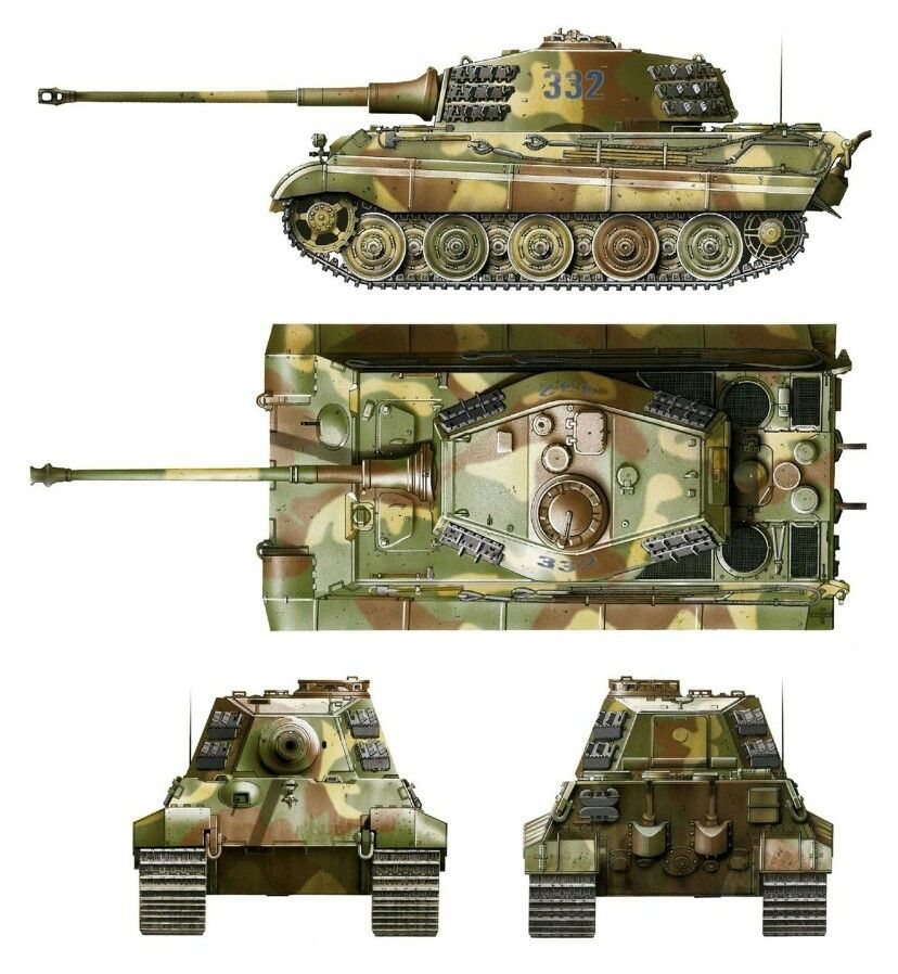 german tiger ii king tiger tanks 155 pinterest. Black Bedroom Furniture Sets. Home Design Ideas