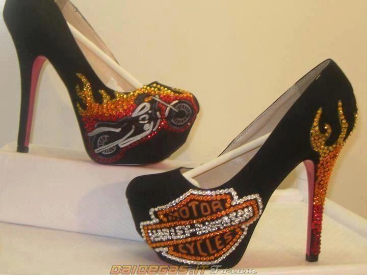 the best attitude a64bb 43e7b Harley Davidson high heels | Shose | Scarpe col tacco ...