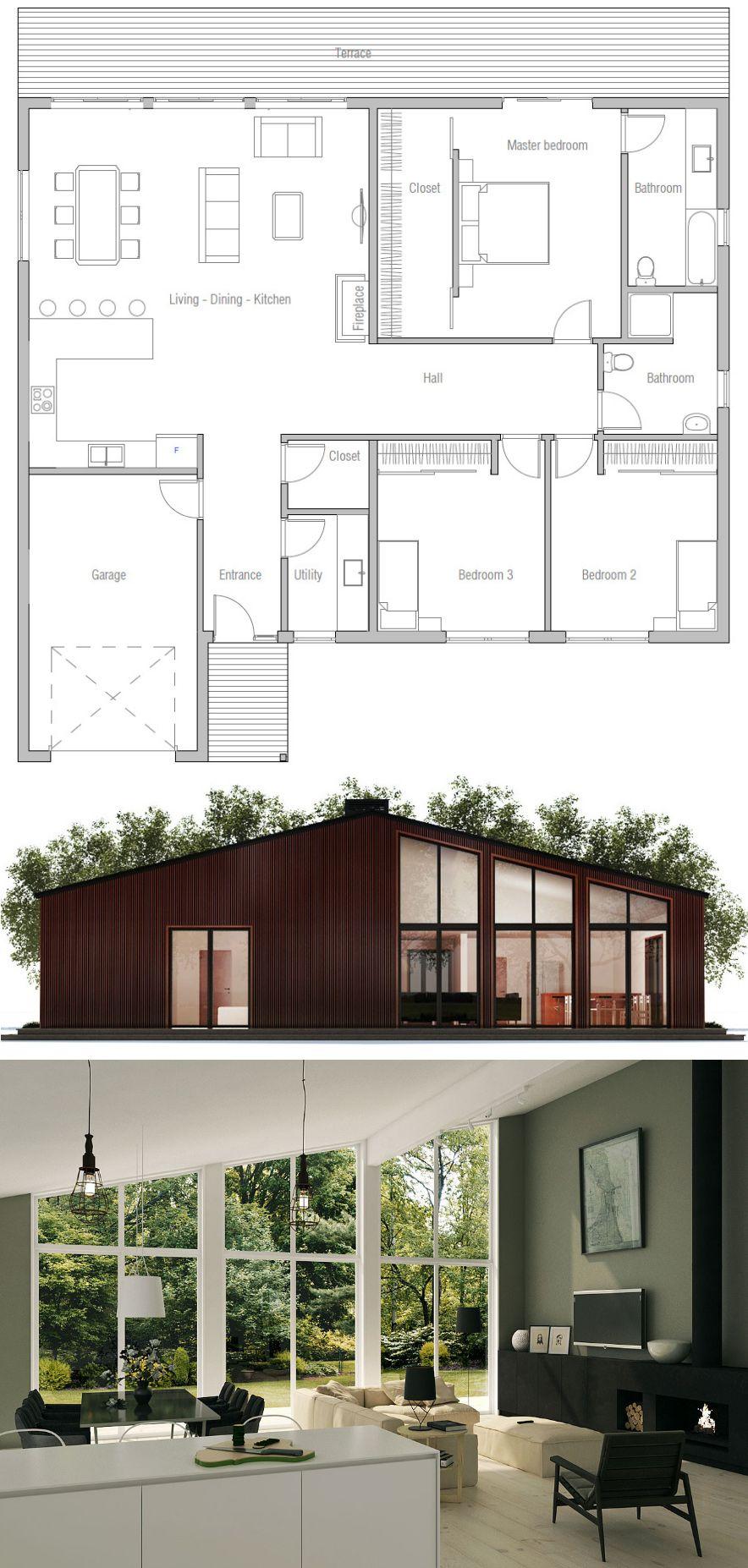 Inspiration plan maison moderne httpwww m