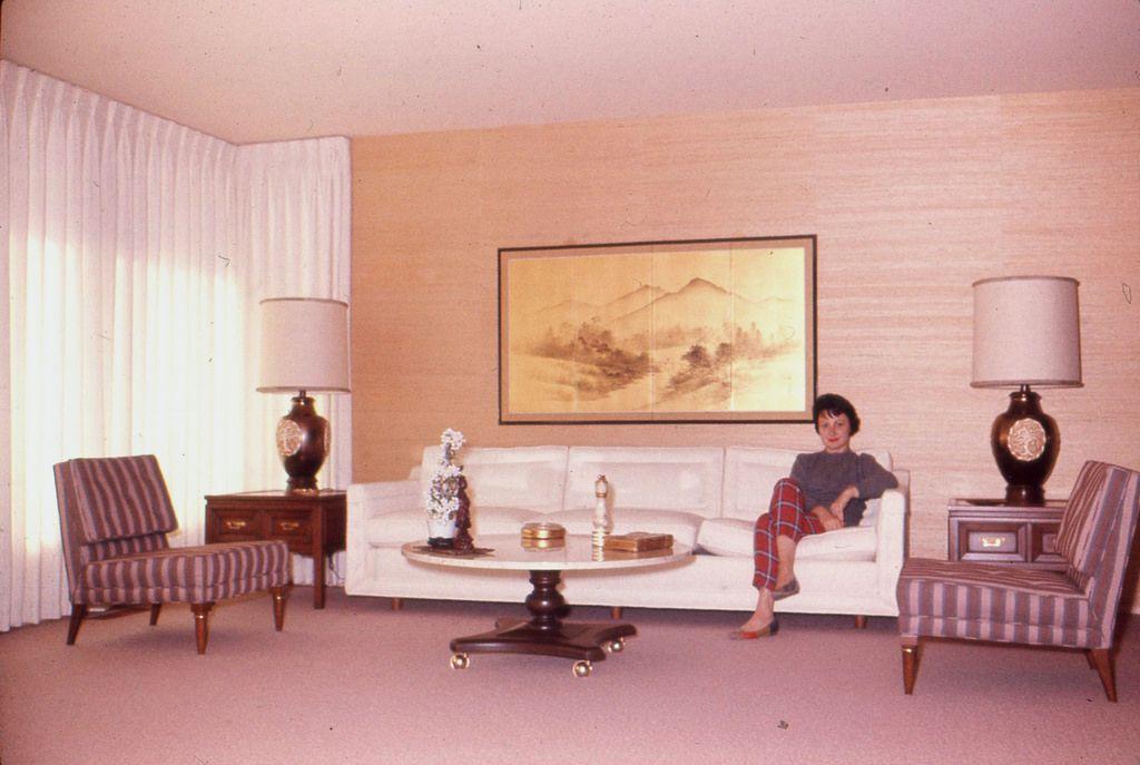 Living room [California 1950s] http://ift.tt/2BbSeuB | Old School ...