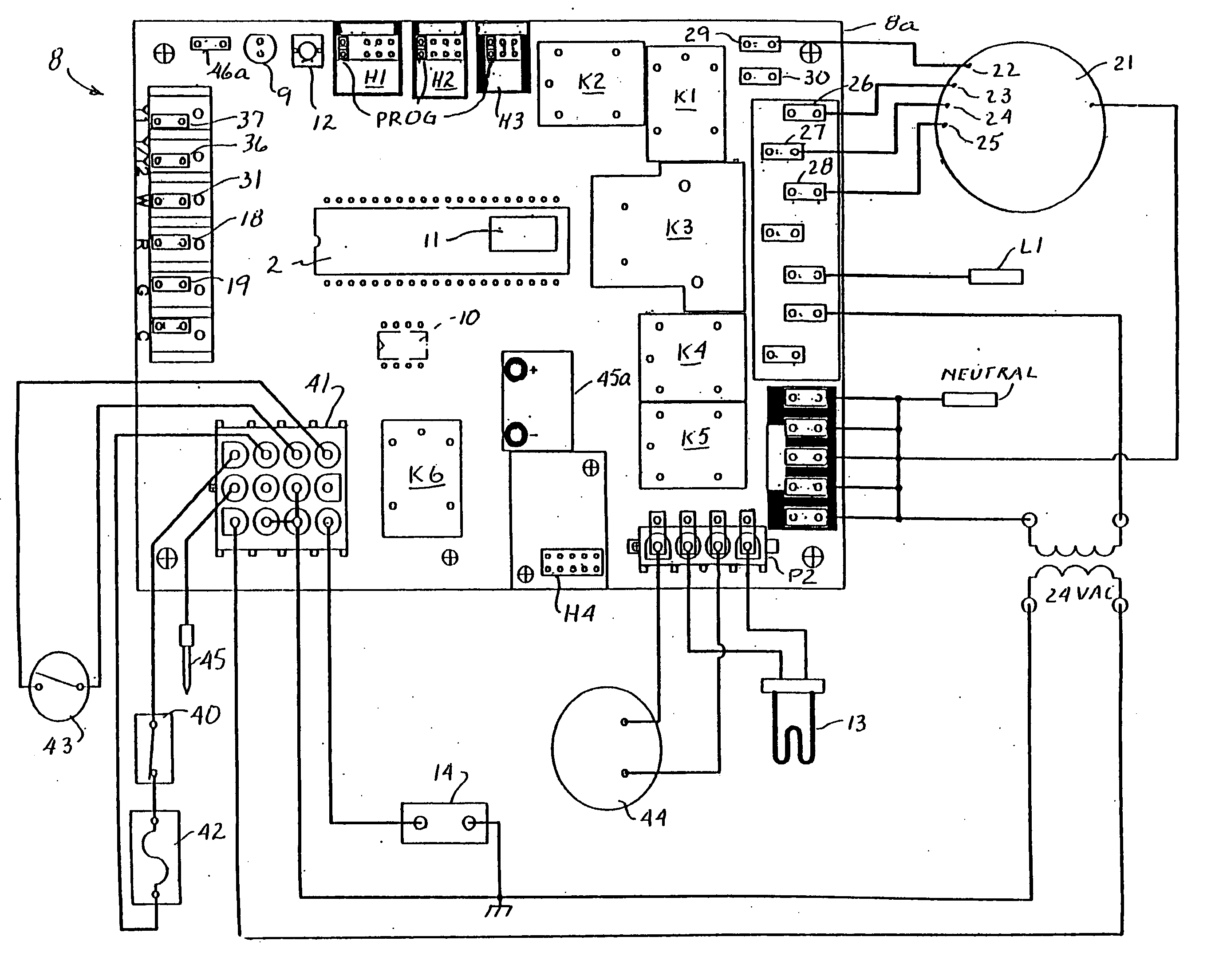 unique old gas furnace wiring diagram diagram diagramsample diagramtemplate wiringdiagram diagramchart [ 2747 x 2209 Pixel ]