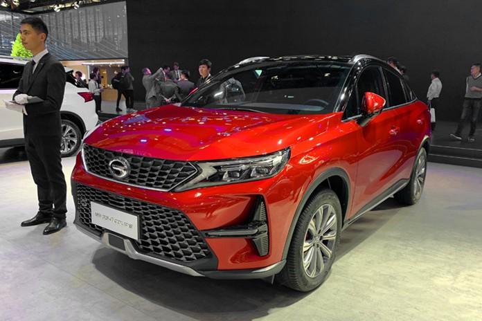 GAC Trumpchi GS4 COUPE Debuted at 2019 Guangzhou Auto Show