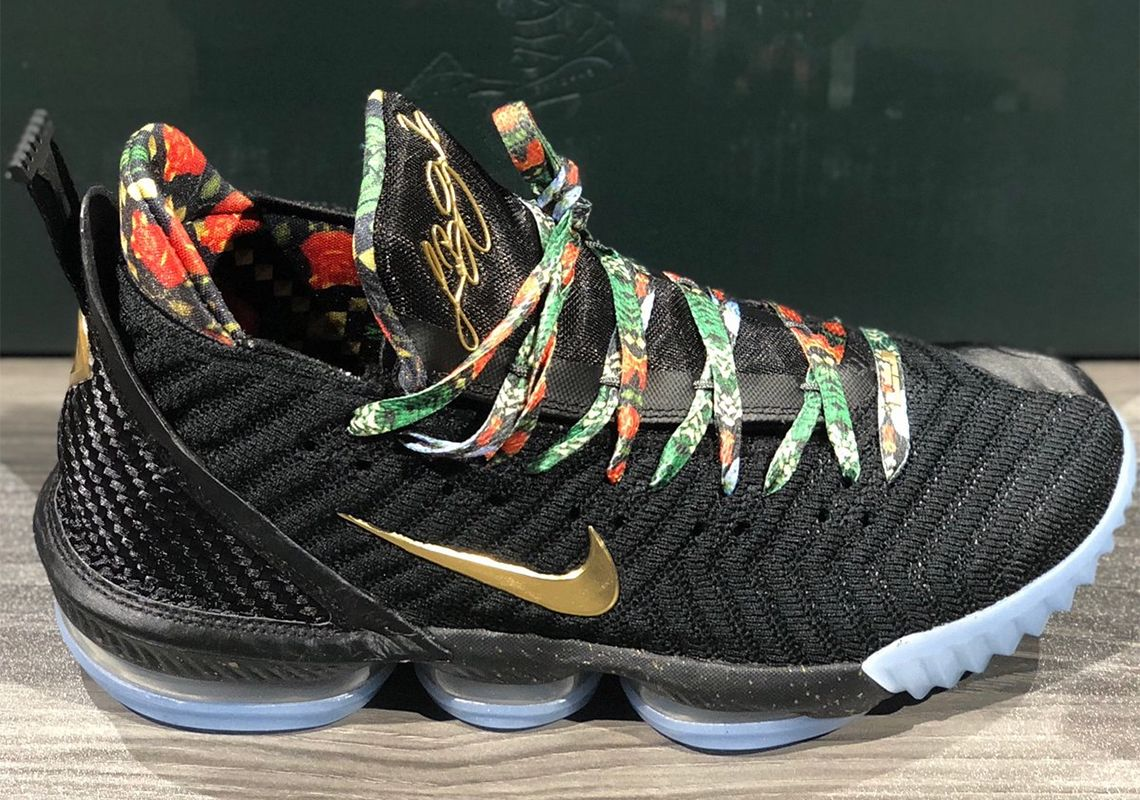 """Nike LeBron 16 """"Watch The Throne"""" Releasing During All Star"""