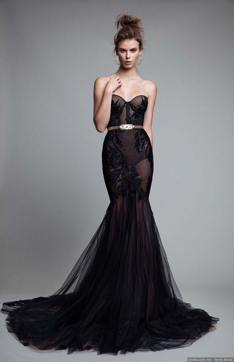 90 imágenes de vestidos de noche  tendencias que te harán brillar -  bodas.com.mx df0204788a32