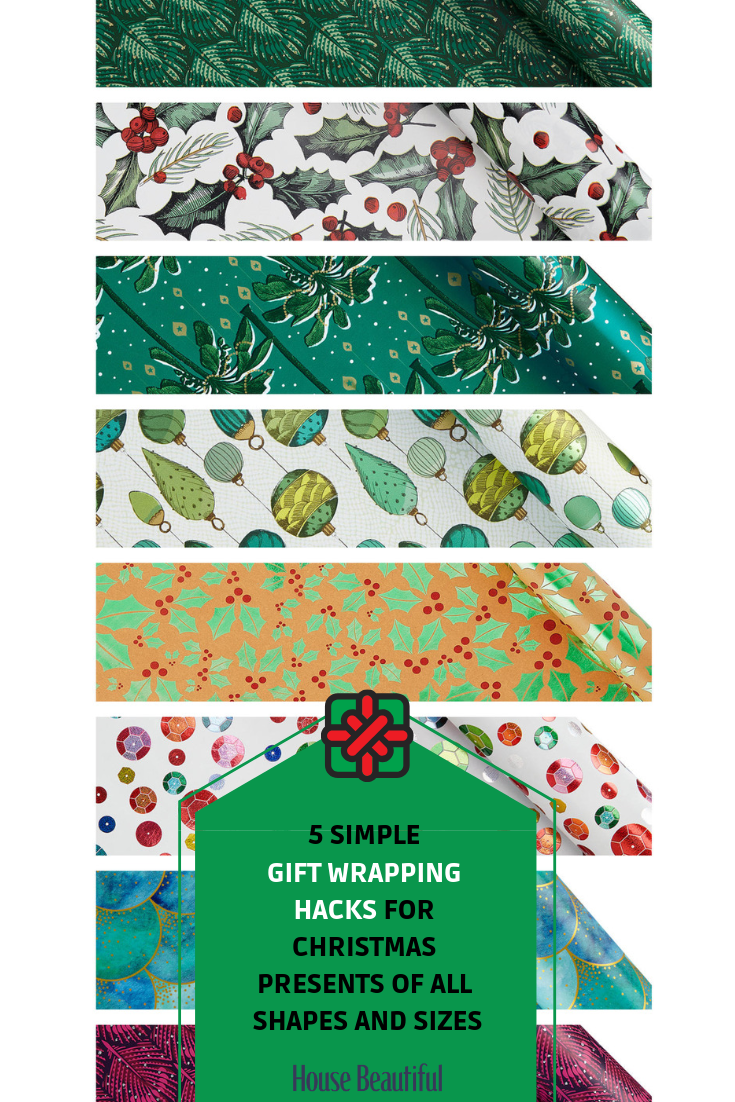 5 simple gift wrapping hacks for Christmas presents of all