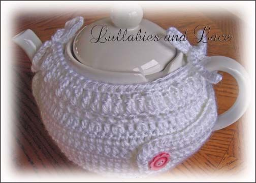 Free Crochet Pattern Simple Teapot Cozy With Buttoneded Some