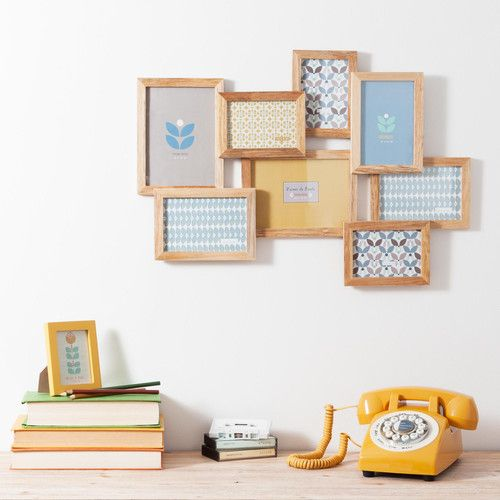 cadre photo 8 vues vintage corner maisons du monde decoraci n pinterest fun diy cosy