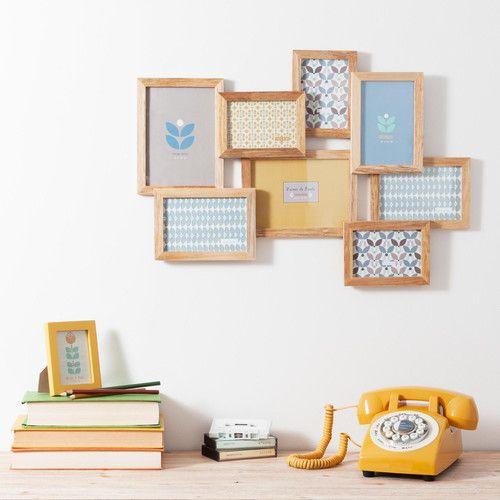 Cadre photo 8 vues vintage corner maisons du monde decoraci n home decor furniture et frame - Maison du monde cadre photo ...