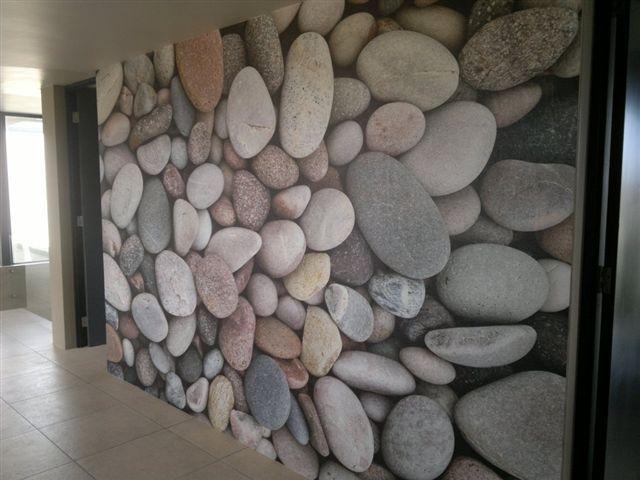Pebble Wallpaper For Bathroom | Decor | Interiors | Pinterest | Wallpaper  And Interiors