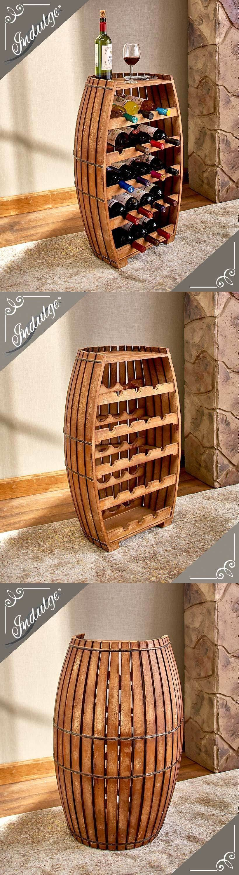 Wine Racks And Bottle Holders 20689 18 Bottle Solid Wood