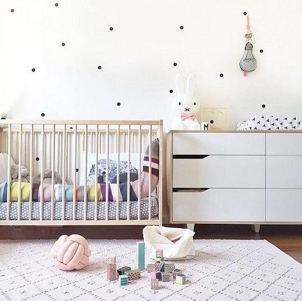 Polka Dot Nursery Adorable Ideas From Instagram Photos
