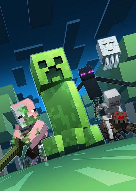 My Minecraft Wallpaper Posters De Minecraft Creeper De Minecraft Imagenes De Minecraft