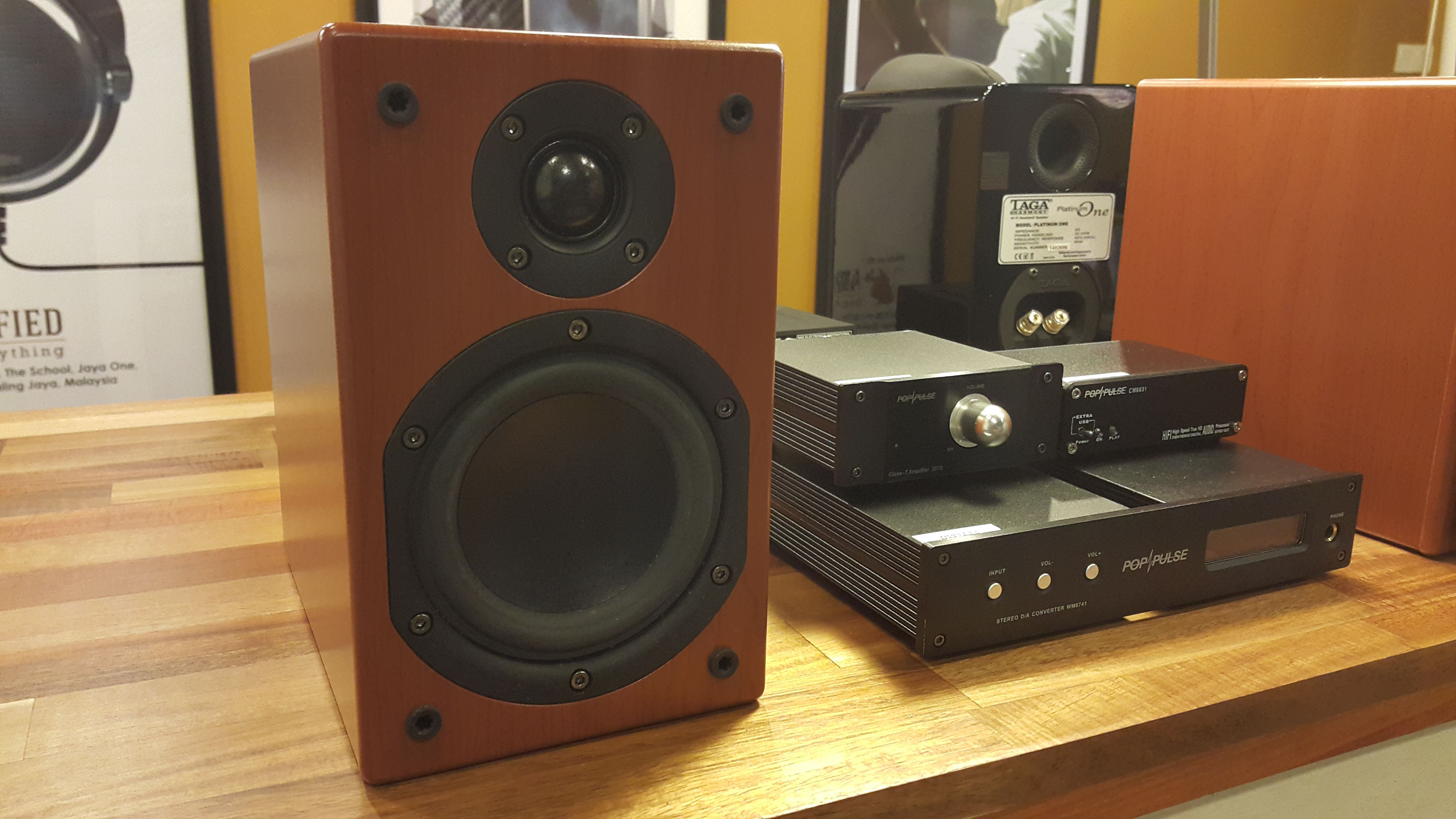 Pop Pulse Amps Hong Kong With Denon Bookshelf Speakers