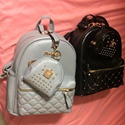 32bc62766 Amazon.com | Cute Small Backpack Mini Purse Casual Daypacks Leather for  Teen Girls and Women | Backpacks