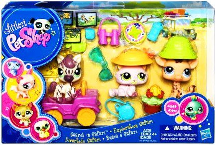 Amazon Com Littlest Pet Shop Themed Playpack Search N 39 Safari