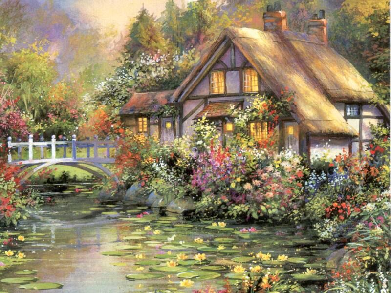 Cottage on Waterlily Lane
