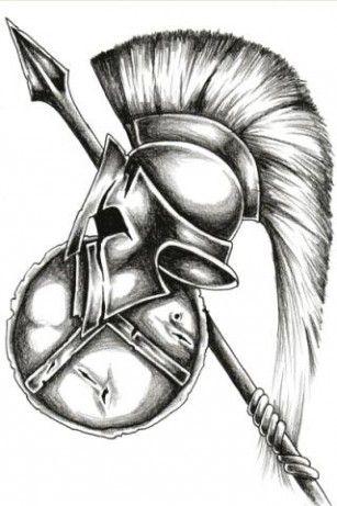 explora casco espartano tatuajes blancos y mucho ms