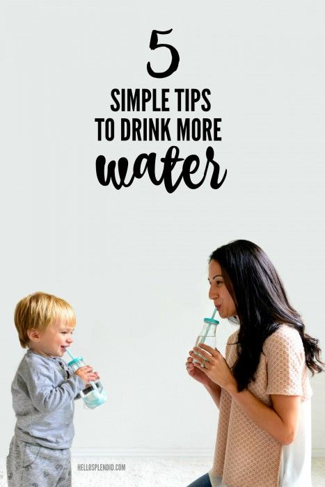5 Simple Tips To Drink More Water   How to drink more water   from Hello Splendid www.hellosplendid.com