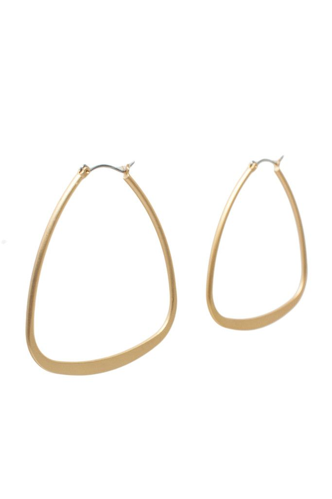 A great basic style with a matte gold finish. $18 www.mooreaseal.com
