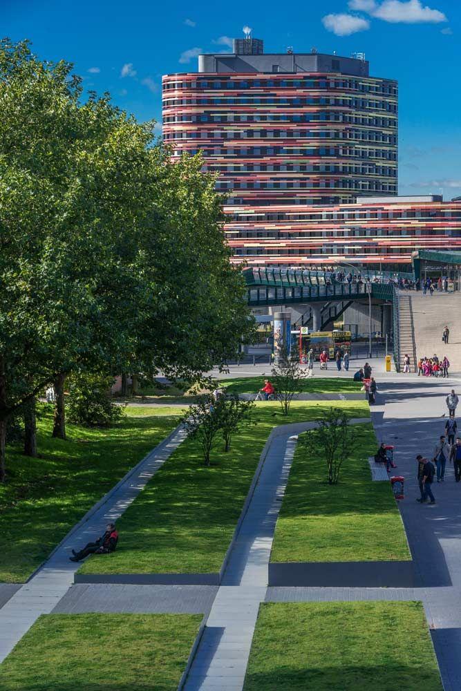 Relais Landschaftsarchitekten Berta Kroeger Plaza 05 Landscape Architecture Works Landezine Urban Landscape Design Landscape Design Landscape Architecture