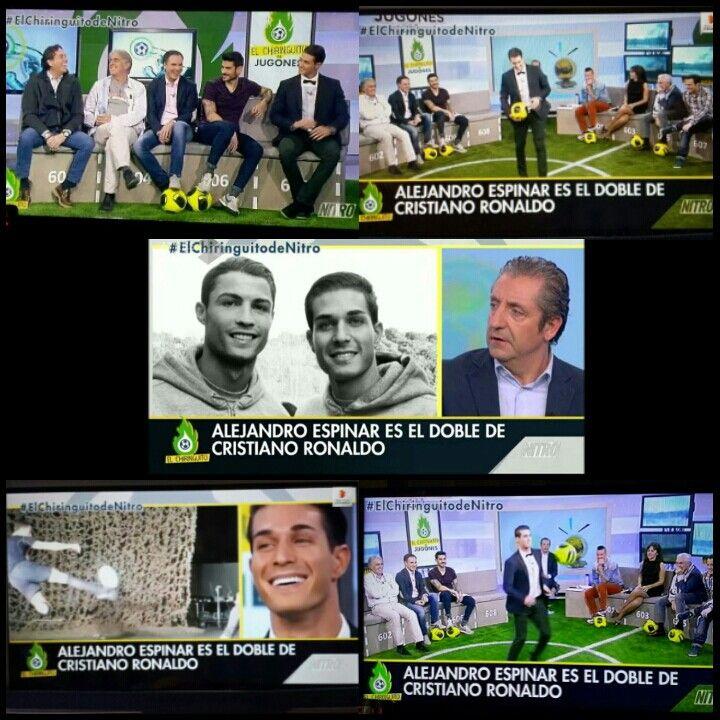 Alexandro Espinar Invitado Al Chiringuito De Jugones Programa De éxito A Nivel Nacional E Internacional Referente En De Cristiano Ronaldo Ronaldo Cristiano