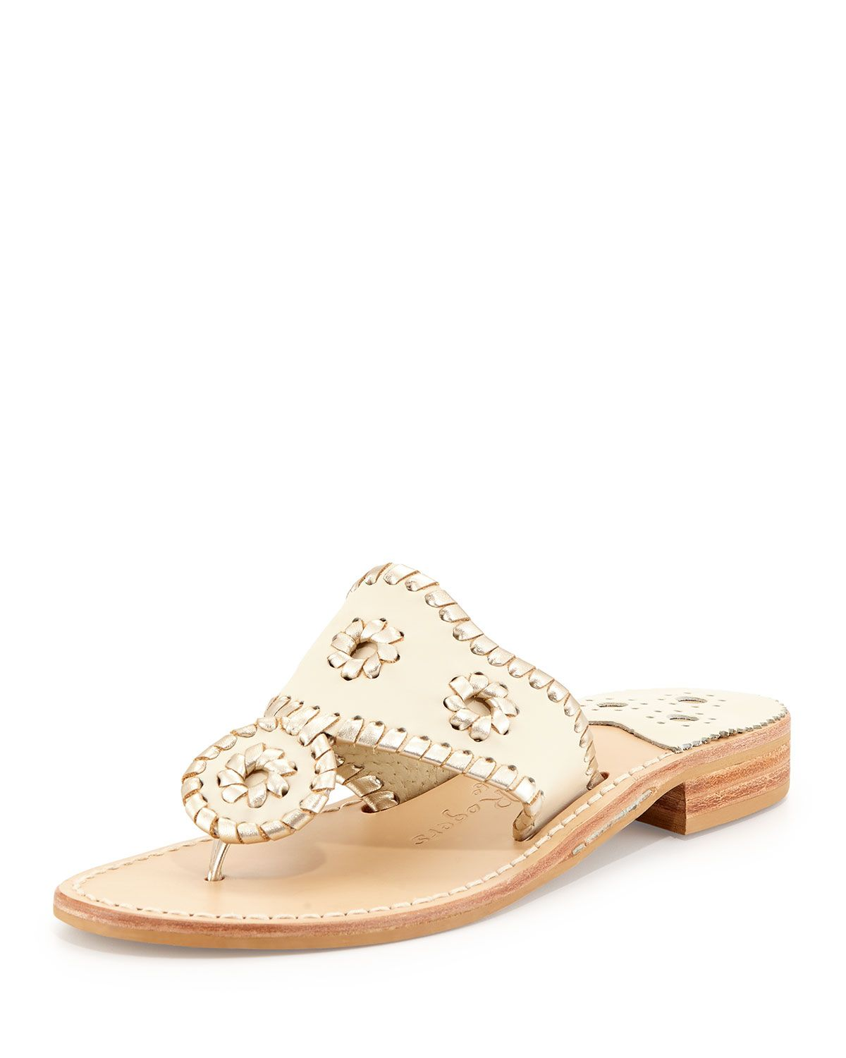 b03ada96b89 Palm Beach Whipstitch Thong Sandal