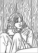 coloring book colouringharry potter30 with images