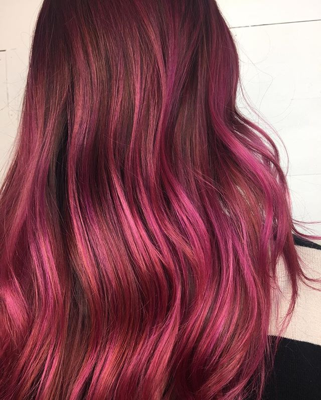Changed My Client From A Traditional Pink Highlight To A Balayage