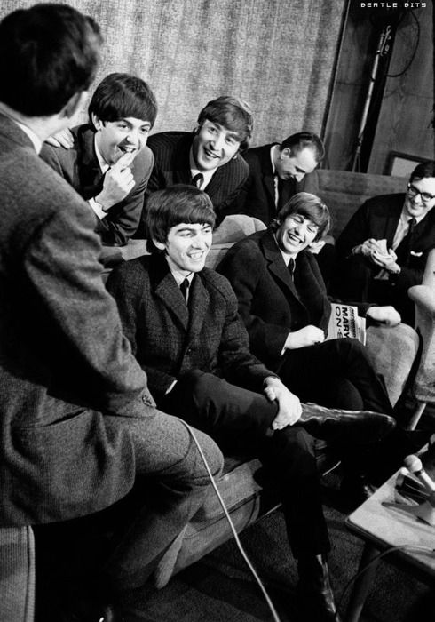 paul being wicked cheeky - 1964